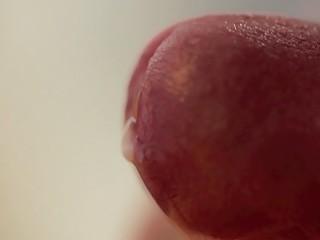 closeup ejaculation