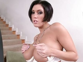 seductive dylan ryder bares off her powerful