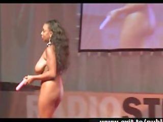 big beautiful woman roxy st performance on stage