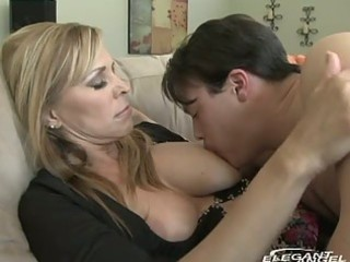 mother i breastfeeds and sucks juvenile man