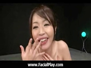 bukkake now - japanese nubiles love facial spunk