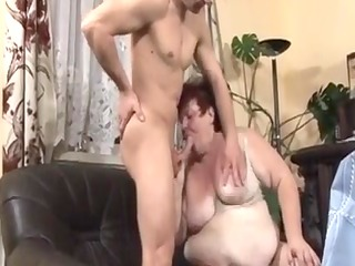 large nice-looking woman maid screwed