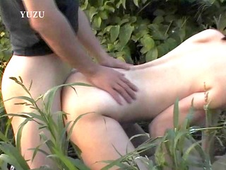 japanese chick drilled in a farm field - pompie