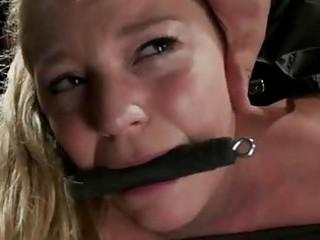 breasty barmaid tied