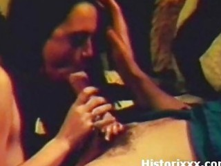 cute gipsy angel gives a lovely blow on vintage