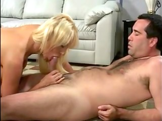 sexually lustful golden-haired bitch getting rod