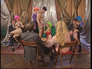 honeys in colored wigs - dbm episode