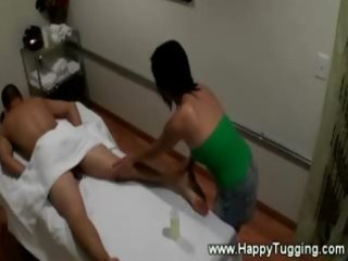 oriental masseuse lovely customer