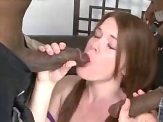 ariel stonem interracial creampie team fuck