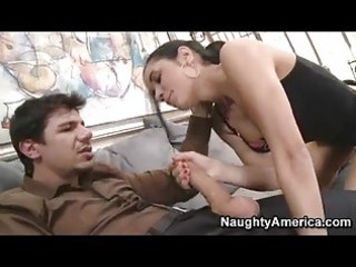 bombshell tia cyrus eagerly taking a wet rod in