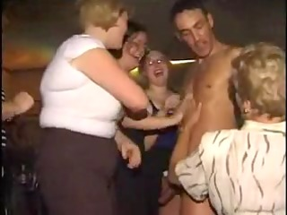 party mature with strippers - part