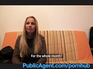 publicagent lucie has massive whoppers that is i