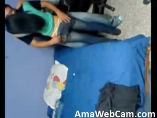 dilettante college angel drilled on hidden webcam