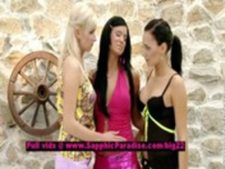 bianca and ashley and carie lusty lesbo legal age