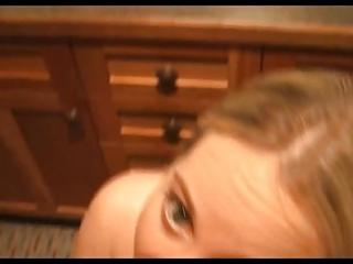 very hawt golden-haired gal screwed in washroom -