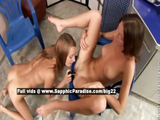 aly and alla outstanding lesbian gals toying