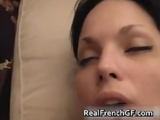 french non-professional pair pleasing fucked