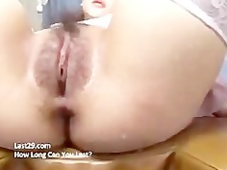 oriental receives the gooey kind of creampie
