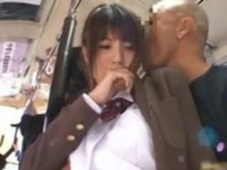 oriental chick has public sex jav