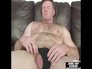aged lad likes to play with his knob