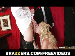 brazzers - large wazoo golden-haired is drilled