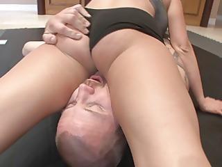 briana - mixed wrestling ding-dong
