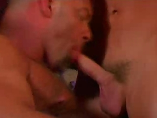 large hairless daddy licks rims and bonks