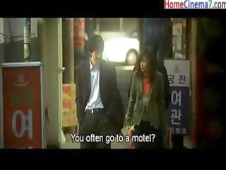 korean clip of a youthful pair going throughout a