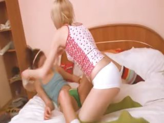french angel getting perverted with cutie
