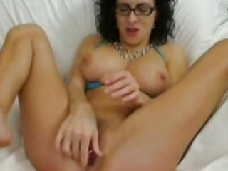 playing with various sex toys on live webcam