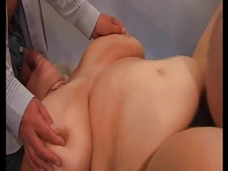tied, drilled &; spunked over! (bbw)