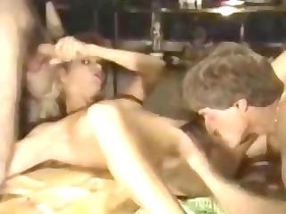 ginger lynn fuckfest cum in face hole