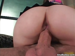 cute brunette hair doxy goes avid riding