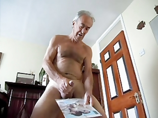 chap on exposed honeys jerking spurt cum