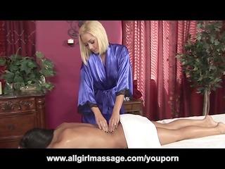 briana blair lesbo massage and vibrator fuck