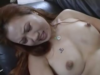brutal anal with oriental hooker on couch
