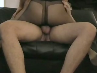 Pantyhose wife play