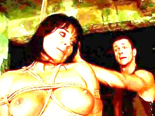 breasty sex serf acquires screwed hard