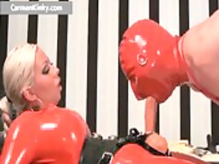 breasty large boobed latex concupiscent mother i