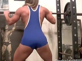 darkside milinda constricted blue workout