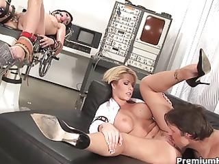 weird sex game with a bondman