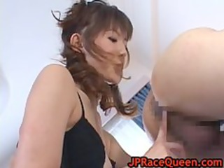 hiromi aoyama getting fur pie licked part7