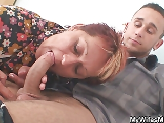 mother in law seduces younger stud during the