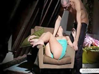 lusty natasha von gagging on bfs large boner