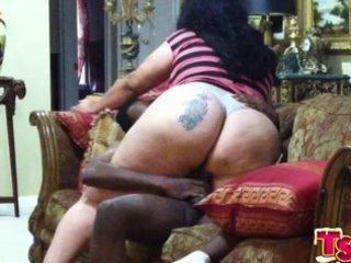 this tgirl ladyman big booty