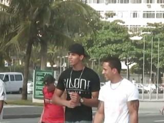 brawny brazilian fellows fuck