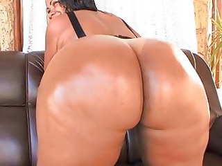 corpulent penis enters her anal