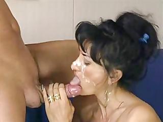 italian mother i receives a great facial