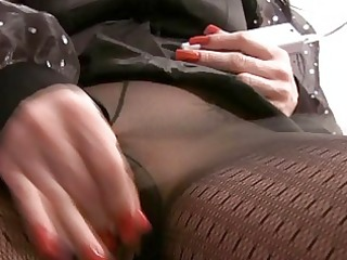 mother i masturbating in hose and boots