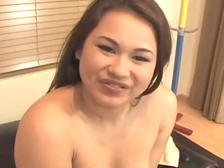 sexy corpulent asian babe moans during the time